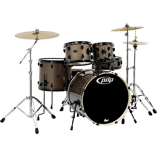 pdp by dw mainstage 5 piece drum set w hardware and paiste cymbals guitar center. Black Bedroom Furniture Sets. Home Design Ideas