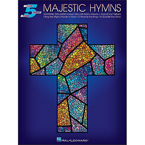 Hal Leonard Majestic Hymns for Five Finger Piano-thumbnail