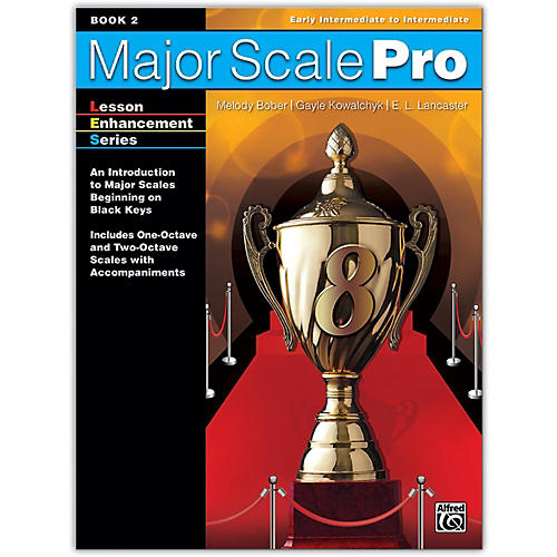 Alfred Major Scale Pro, Book 2 Early Intermediate / Intermediate-thumbnail