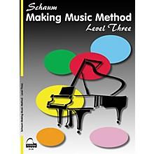 SCHAUM Making Music Method Educational Piano Book by John W. Schaum (Level Early Inter)