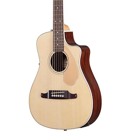 Fender Malibu CE Acoustic-Electric Guitar Natural-thumbnail