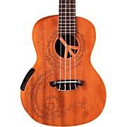 Luna Guitars Maluhia Concert Acousti- Electric Ukulele
