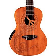 Luna Guitars Maluhia Concert Acoustic-Electric Ukulele