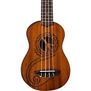 Luna Guitars Maluhia Peace Soprano Ukulele