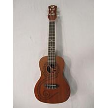 Luna Guitars Maluhia Peace Ukulele