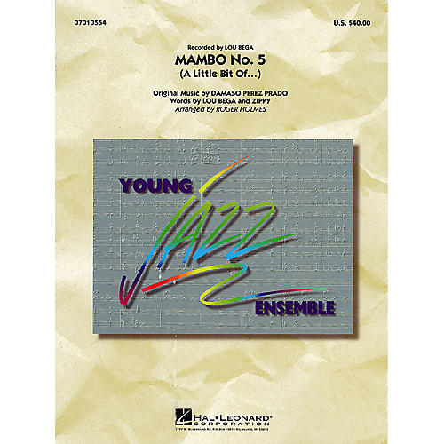 Hal Leonard Mambo No. 5 (A Little Bit Of...) Jazz Band Level 3 Arranged by Roger Holmes