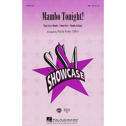 Hal Leonard Mambo Tonight! (Medley) SSA arranged by Paula Foley Tillen