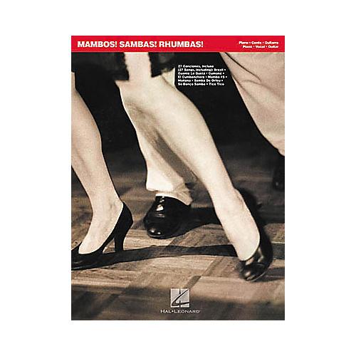 Hal Leonard Mambos! Sambas! Rhumbas! Piano, Vocal, Guitar Songbook-thumbnail