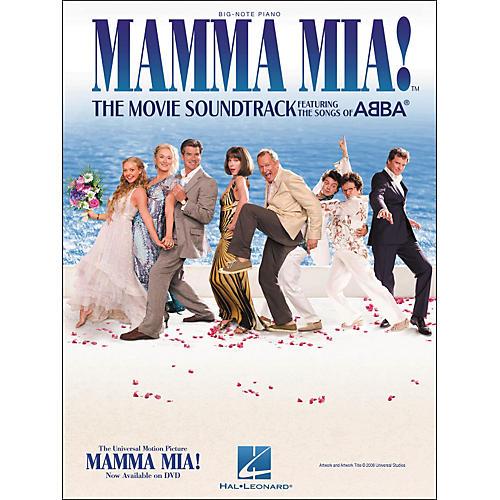 Hal Leonard Mamma Mia - The Movie Soundtrack for Big Note Piano-thumbnail