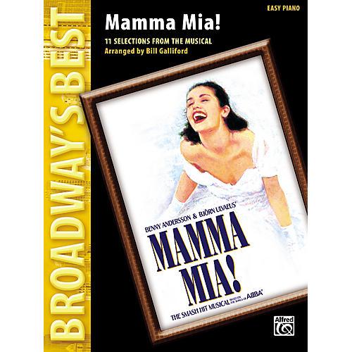 Alfred Mamma Mia! Easy Piano