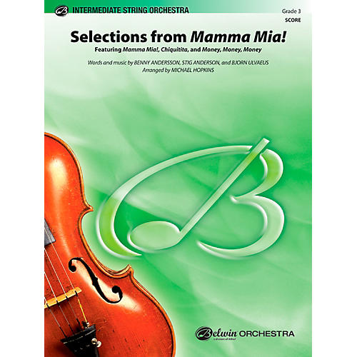 Alfred Mamma Mia!, Selections from String Orchestra Grade 3 Set-thumbnail