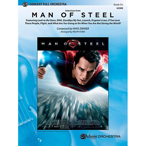 Alfred Man of Steel, Selections from Full Orchestra Level 3.5 Set-thumbnail