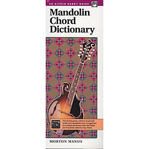 Alfred Mandolin Chord Dictionary by Alfred