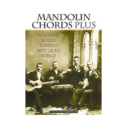 Centerstream Publishing Mandolin Chords Plus Technique Book-thumbnail