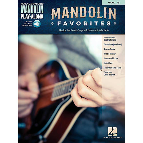 Hal Leonard Mandolin Favorites - Mandolin Play-Along Vol. 8 Book/Audio Online-thumbnail