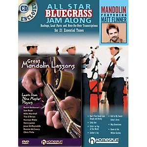Homespun Mandolin Jam Along Bundle Pack Homespun Tapes Series Performed by ... by Homespun