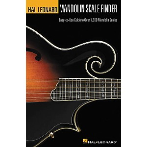 Hal Leonard Mandolin Scale Finder 6x9 Book by Hal Leonard