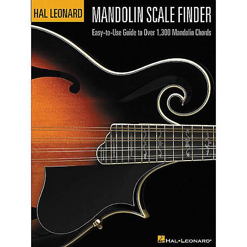 Hal Leonard Mandolin Scale Finder 9x12 Book-thumbnail