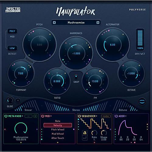 POLYVERSE Manipulator Vocal Processor
