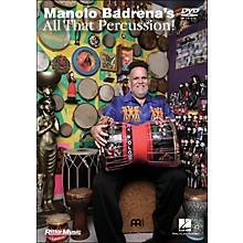 Hal Leonard Manolo Gardena's All That Percussion! (DVD)