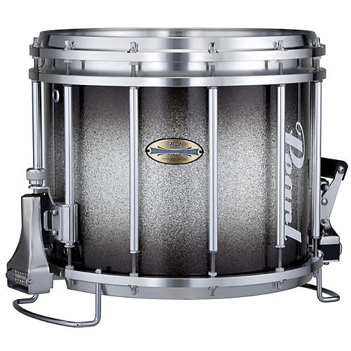 Pearl Maple CarbonCore FFX Snare Drum Black Silver Burst 14x12