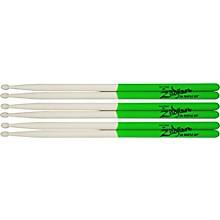 Zildjian Maple Green DIP Drumsticks 3-Pack