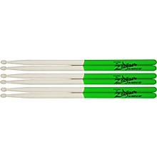 Zildjian Maple Green DIP Drumsticks 3-Pack