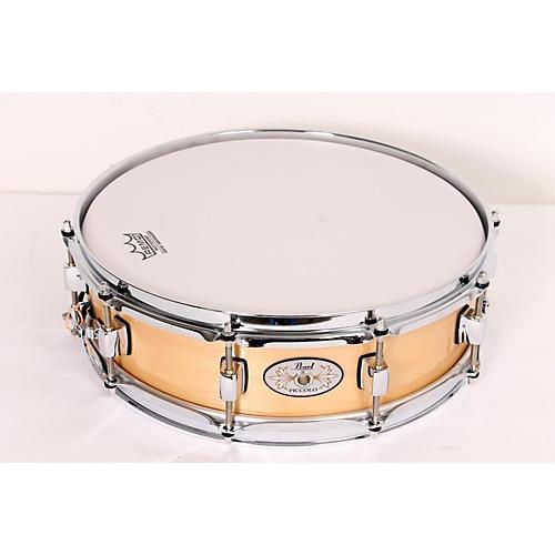 Pearl Maple Piccolo Snare Drum Natural 888365093628