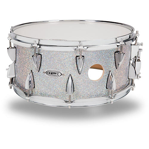 Orange County Drum & Percussion Maple Snare Drum in Halo Flake Finish-thumbnail