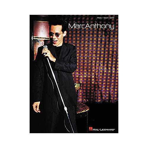 Hal Leonard Marc Anthony Piano, Vocal, Guitar Songbook