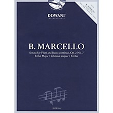 Dowani Editions Marcello: Sonata for Flute & Basso Continuo Op. 2 No. 7 in B-flat Major Dowani Book/CD Softcover with CD