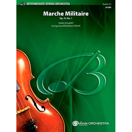 Alfred March Militaire String Orchestra Grade 2.5 Set-thumbnail