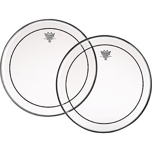 Remo Marching Pinstripe Pro Pack with Free 10 in. Clear Pinstripe Drum Head-thumbnail