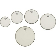 Remo Marching Suede Emperor Crimplock Pro Pack 6, 8, 12 & 14 in., Free 10 in. Suede Emperor Drum Head