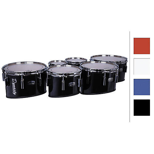 Dynasty Marching Tenor Drums Sextet 6/6/8/10/12/13