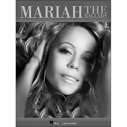 Hal Leonard Mariah Carey - The Ballads arranged for piano, vocal, and guitar (P/V/G)-thumbnail
