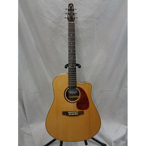 used seagull maritime cutaway acoustic electric guitar natural guitar center. Black Bedroom Furniture Sets. Home Design Ideas
