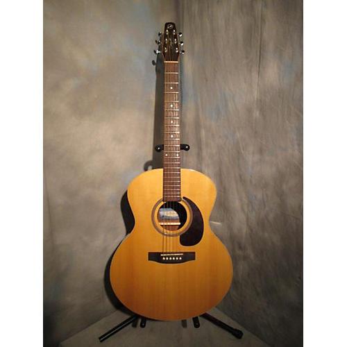 Seagull Maritime Mini Jumbo Gloss Acoustic Electric Guitar