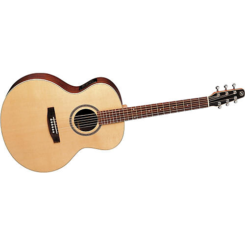 Seagull Maritime Mini Jumbo Spruce Gloss QI Acoustic-Electric Guitar