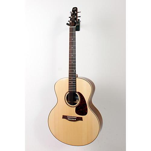 Seagull Maritime SWS Mini Jumbo High Gloss QI Acoustic-Electric Guitar Natural 888365160092