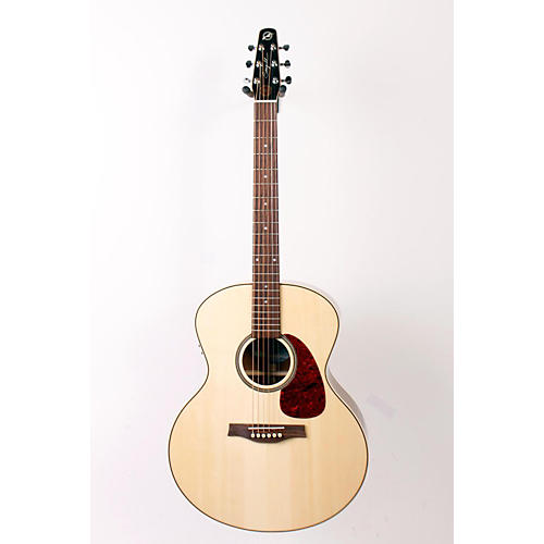 Seagull Maritime SWS Mini Jumbo High Gloss QI Acoustic-Electric Guitar