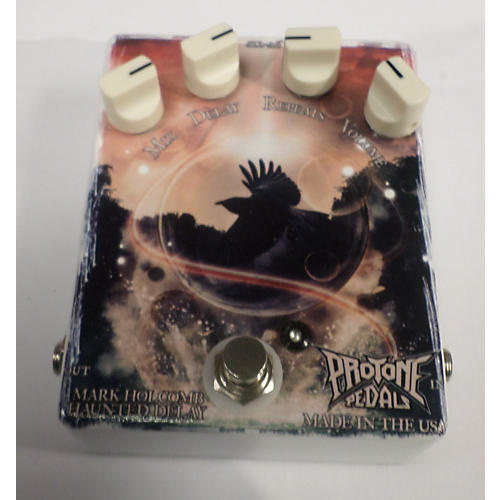 In Store Used Mark Holcomb Haunted Delay Effect Pedal-thumbnail