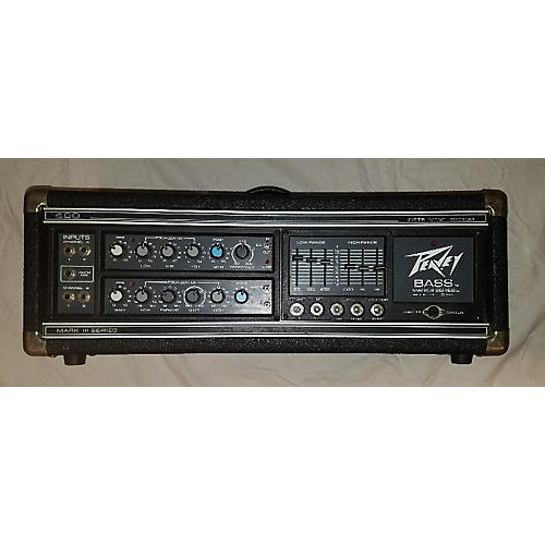 used peavey mark iii 400bh series bass head bass amp head guitar center. Black Bedroom Furniture Sets. Home Design Ideas