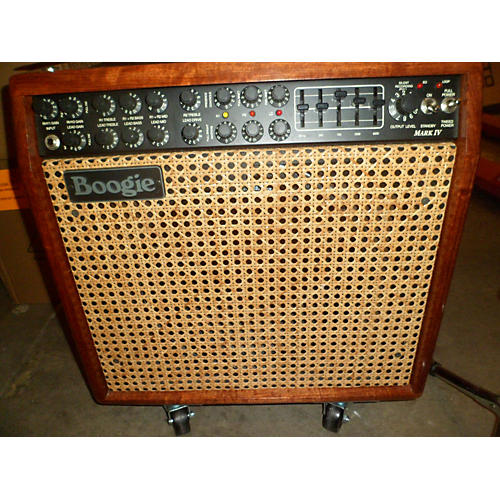Mesa Boogie Mark IV 85W Hardwood/Wicker Grille Tube Guitar Combo Amp