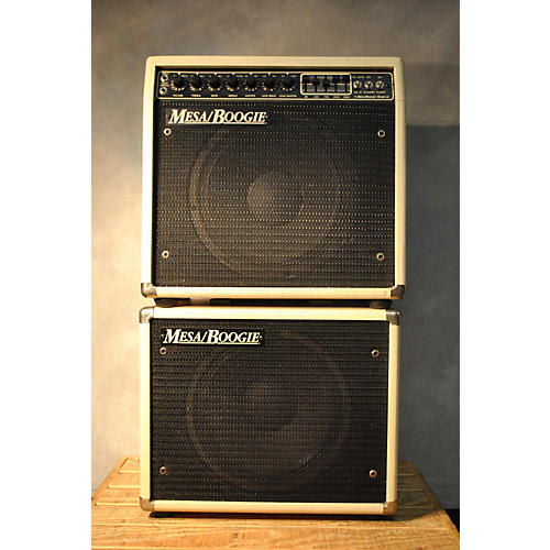 Mesa Boogie Mark Iii Limited Edition With Matching 1x12 (red Stripe) Guitar Stack-thumbnail