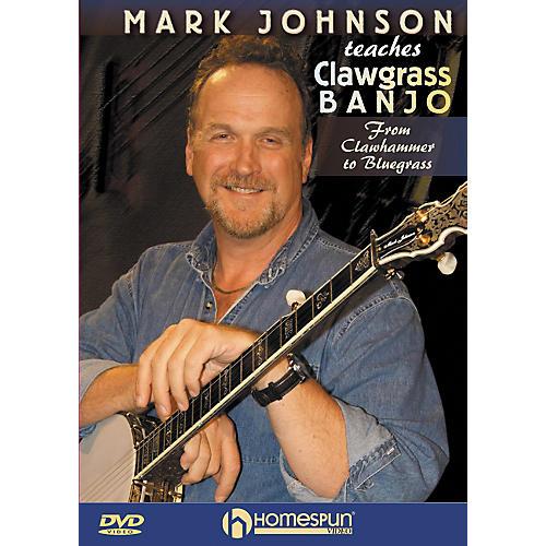 Homespun Mark Johnson Teaches Clawgrass Banjo (DVD)-thumbnail