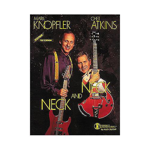 Hal Leonard Mark Knopfler/Chet Atkins - Neck and Neck Guitar Tab Book