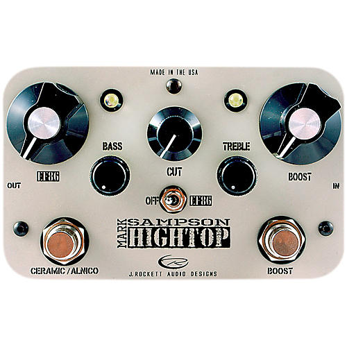 Rockett Pedals Mark Sampson Hightop EQ/Boost Guitar Effects Pedal