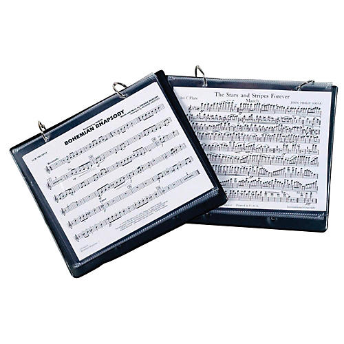 Marlo Plastics Marlo Marching Band Folder 2 Ring Binder