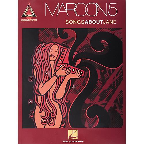 Hal Leonard Maroon5 - Songs About Jane Book
